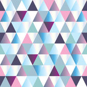 Diamanten naadloze driehoek abstracte patroon — Stockvector