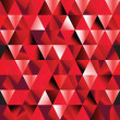 Abstract ruby seamless triangle pattern. — Stock Vector