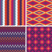 Abstract patroon collectie — Stockvector