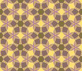Naadloze geometrische abstracte patroon — Stockvector