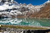 尼泊尔喜马拉雅山景观 — 图库照片