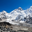 Mount Everest View, Himalaya Mountains — Stock Photo