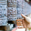 Prayer wheel in monastery, Nepal — Stock Photo #9210701