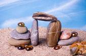 Beautiful exotic stones — Stock Photo