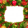 Christmas Decoration Candle. — Foto de stock #8067322