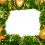 Christmas Decoration Candle. — Stock Photo #8067323