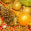 Christmas Decoration . New Year's background — Stock Photo