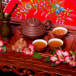 Traditional tea ceremony in Japan — Foto Stock