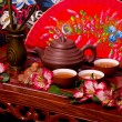 Traditional tea ceremony in Japan — Stockfoto