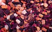 Flower and fruit tea — Stock Photo