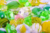 Beautiful bright colorful stones on a white — ストック写真