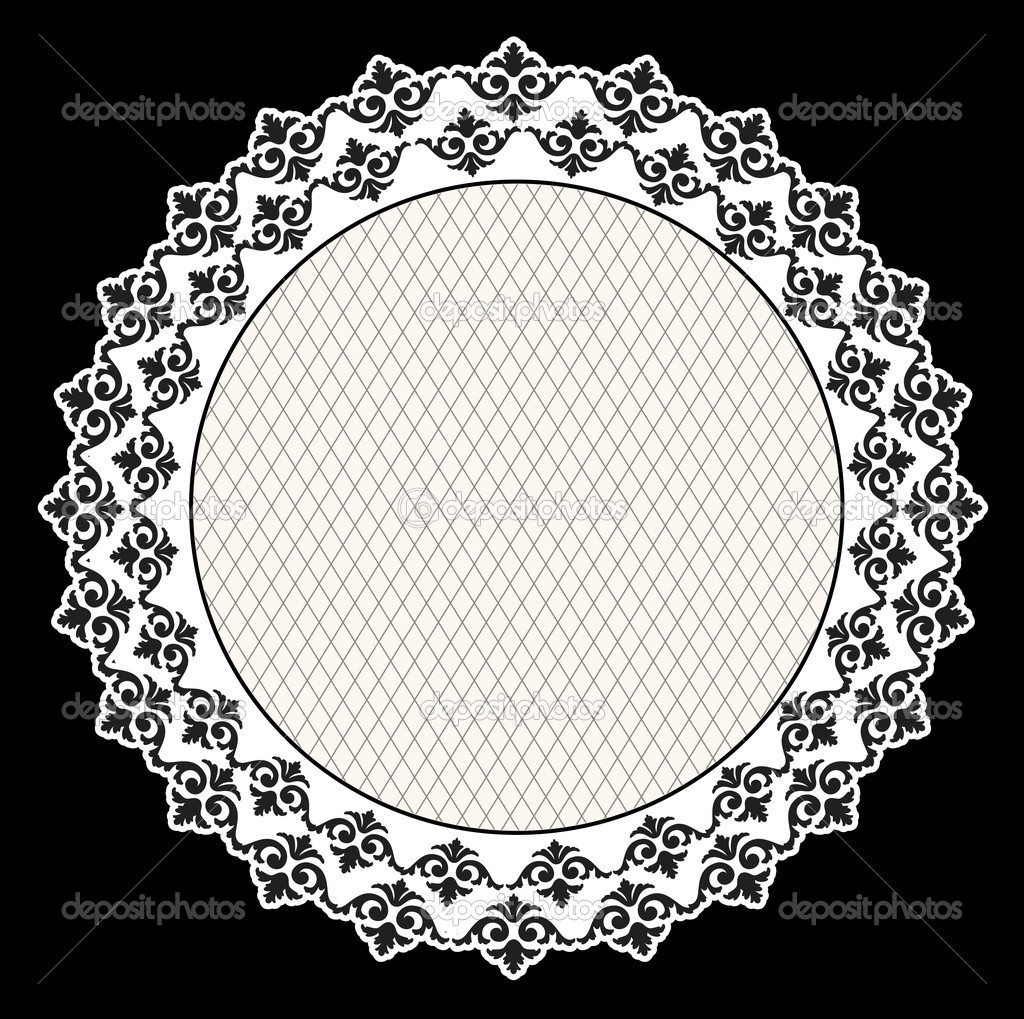 Beautiful vintage background with ornament. Vector — Stockvectorbeeld #9443639