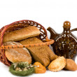 Large variety of bread — Stock Photo #9833431