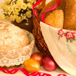 Large variety of bread — Stock Photo #9891693