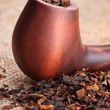Foto Stock: Smoking pipe