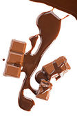 Chocolate abstract background — Stock Photo