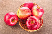 Ripe apple fruits — Stock Photo