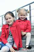 Due sorelle — Foto Stock