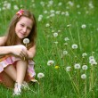 Royalty-Free Stock Photo: Girl with dandelion