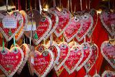 Christmas market gegevens — Stockfoto