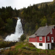 Norwegiwaterfall — Stock Photo #8383140