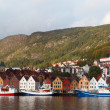 Bergen panorama — Stock Photo