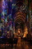 Catedral de santo estevão — Fotografia Stock
