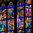 图库照片: Stained-glass window