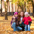 Family at the park — Stock Photo #8506666