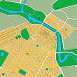 Map of Generic Urban City — Stock Photo #8880007