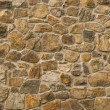 Masonry rock wall — Stock Photo