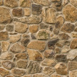 Stock Photo: Masonry rock wall seamlessly tileable