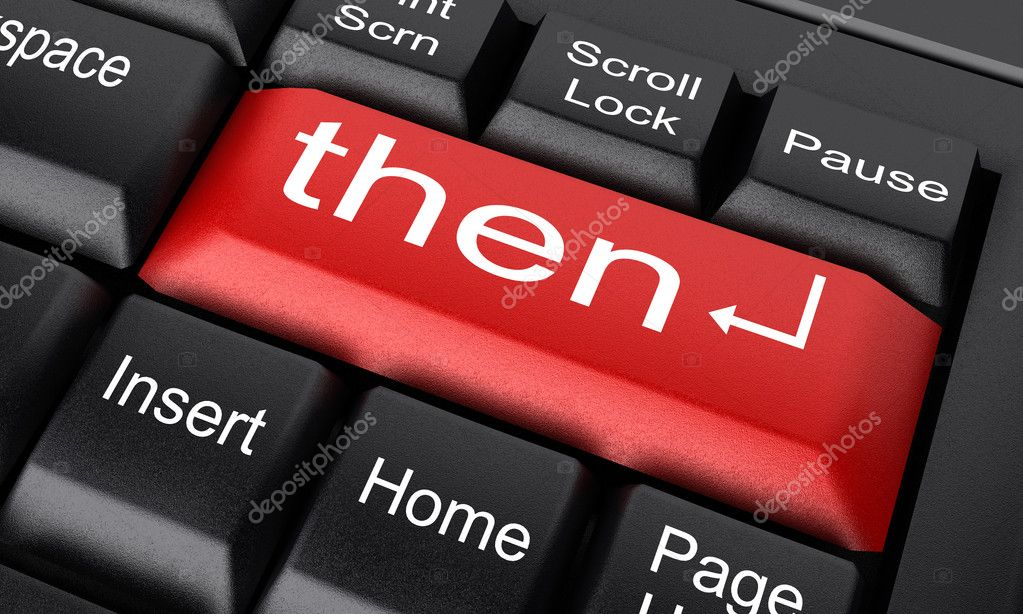 Word on keyboard made in 3D — Stock Photo #8359787