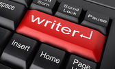 Word on keyboard — Stock Photo