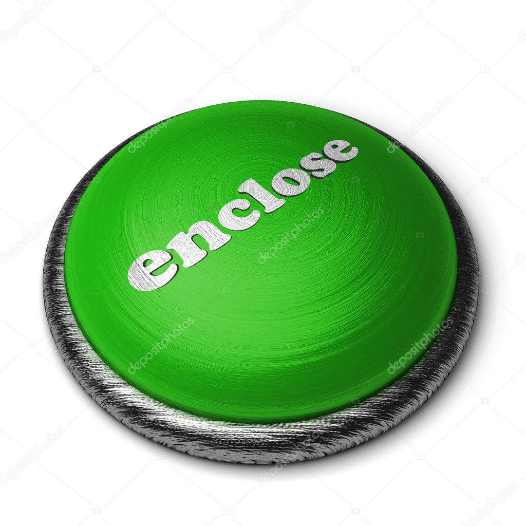 Word on the button  Stock Photo #8381381