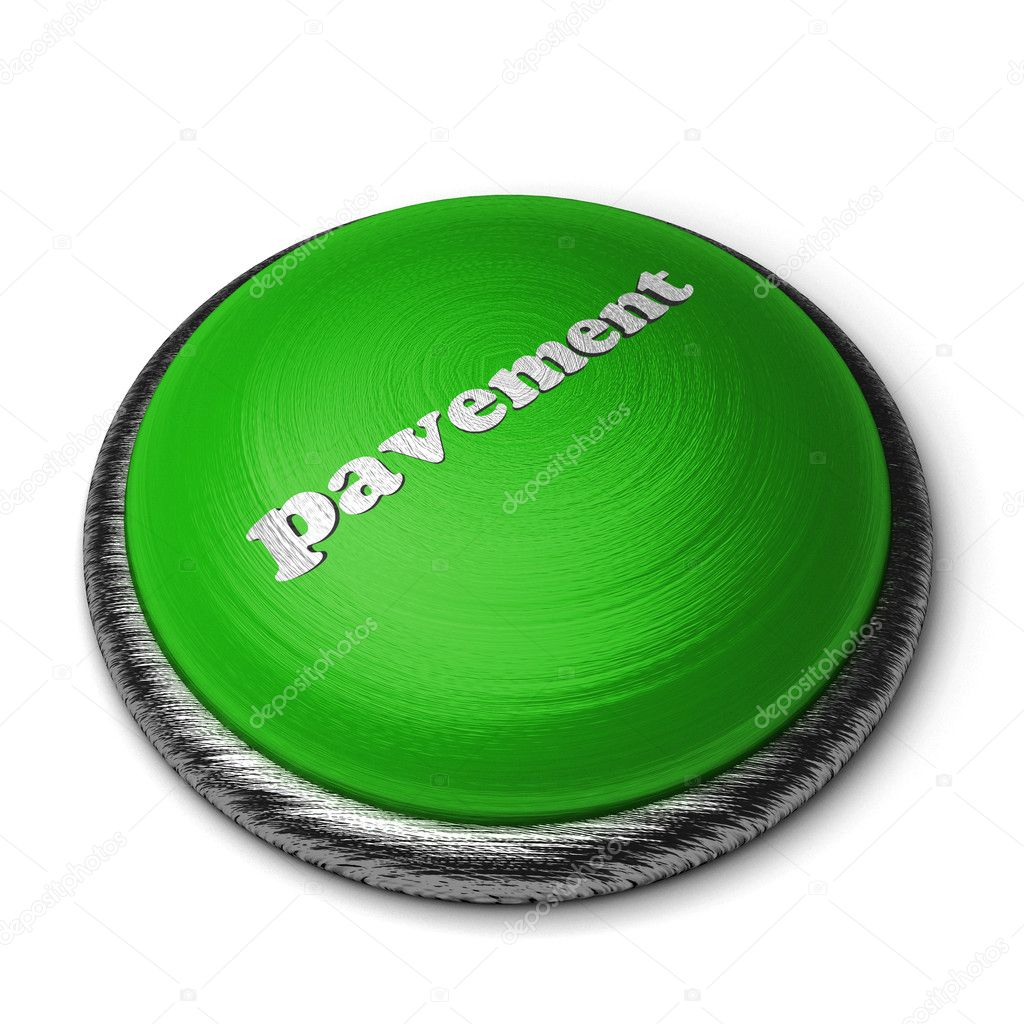 Word on the button — Stock Photo #8390092