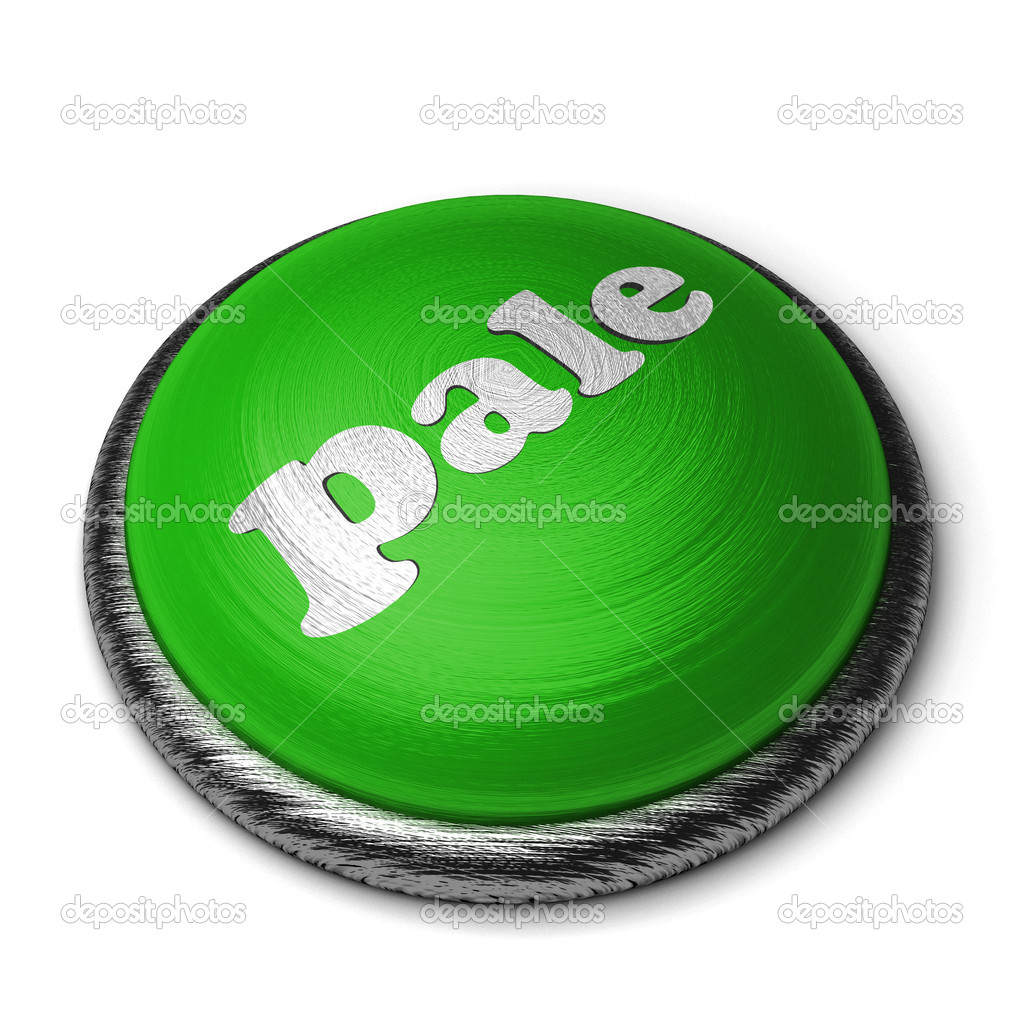 Word on the button — Stock Photo #8390099
