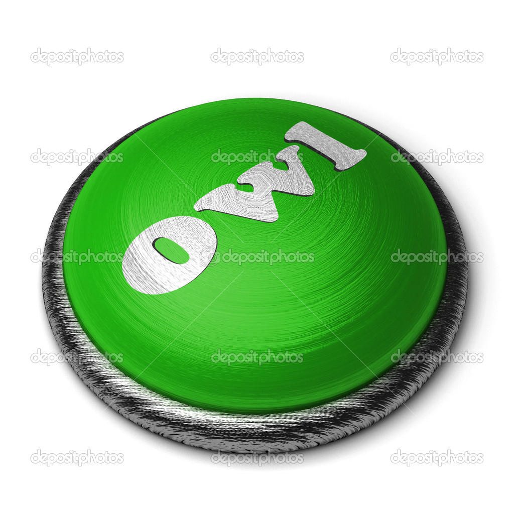 Word on the button — Stock Photo #8390103