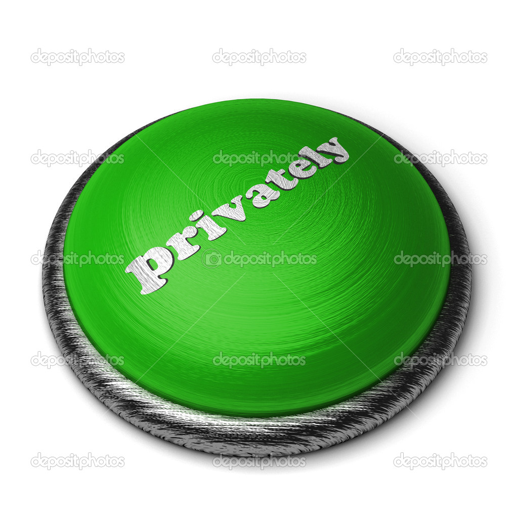 Word on the button — Stock Photo #8392170