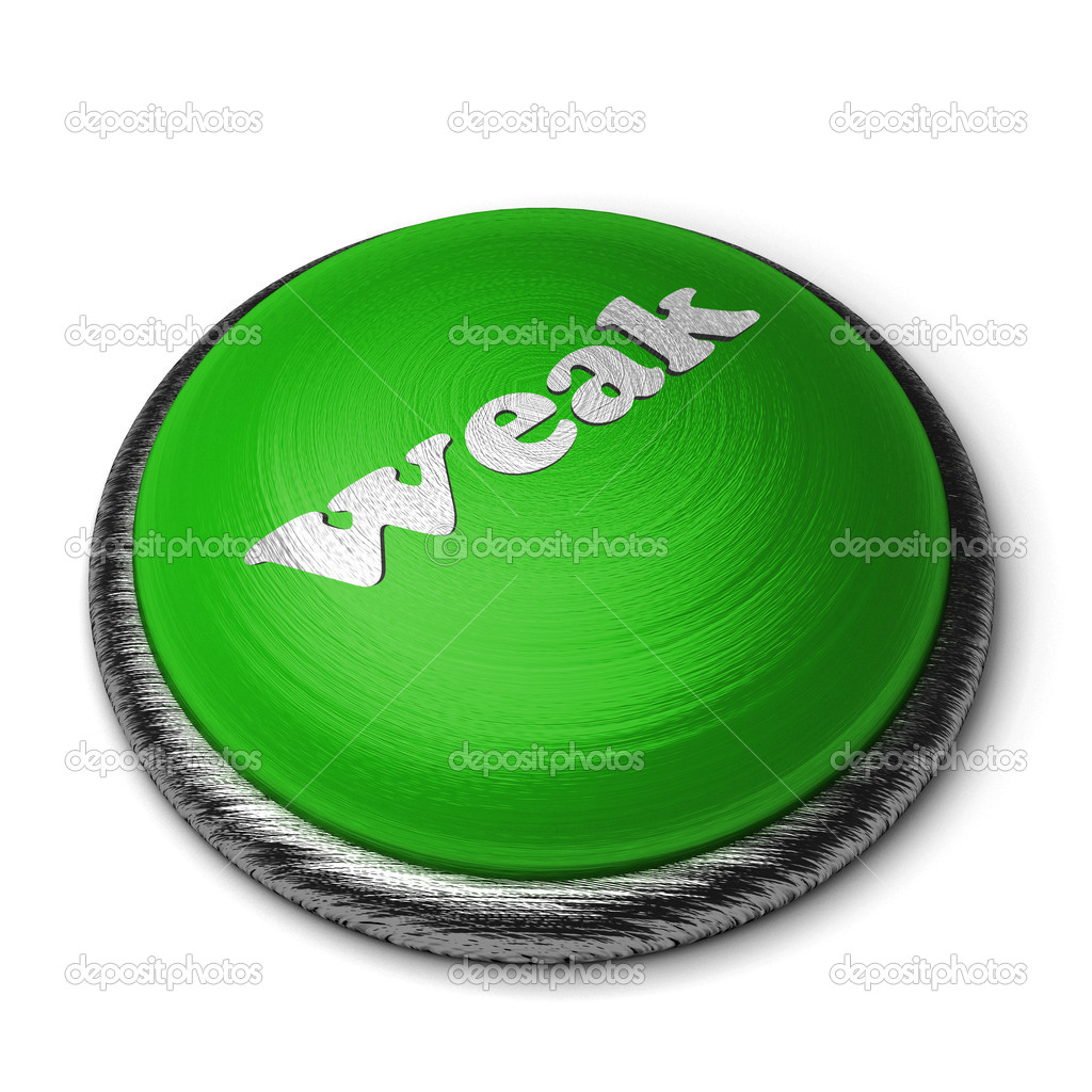 Word on the button — Stock Photo #8400875
