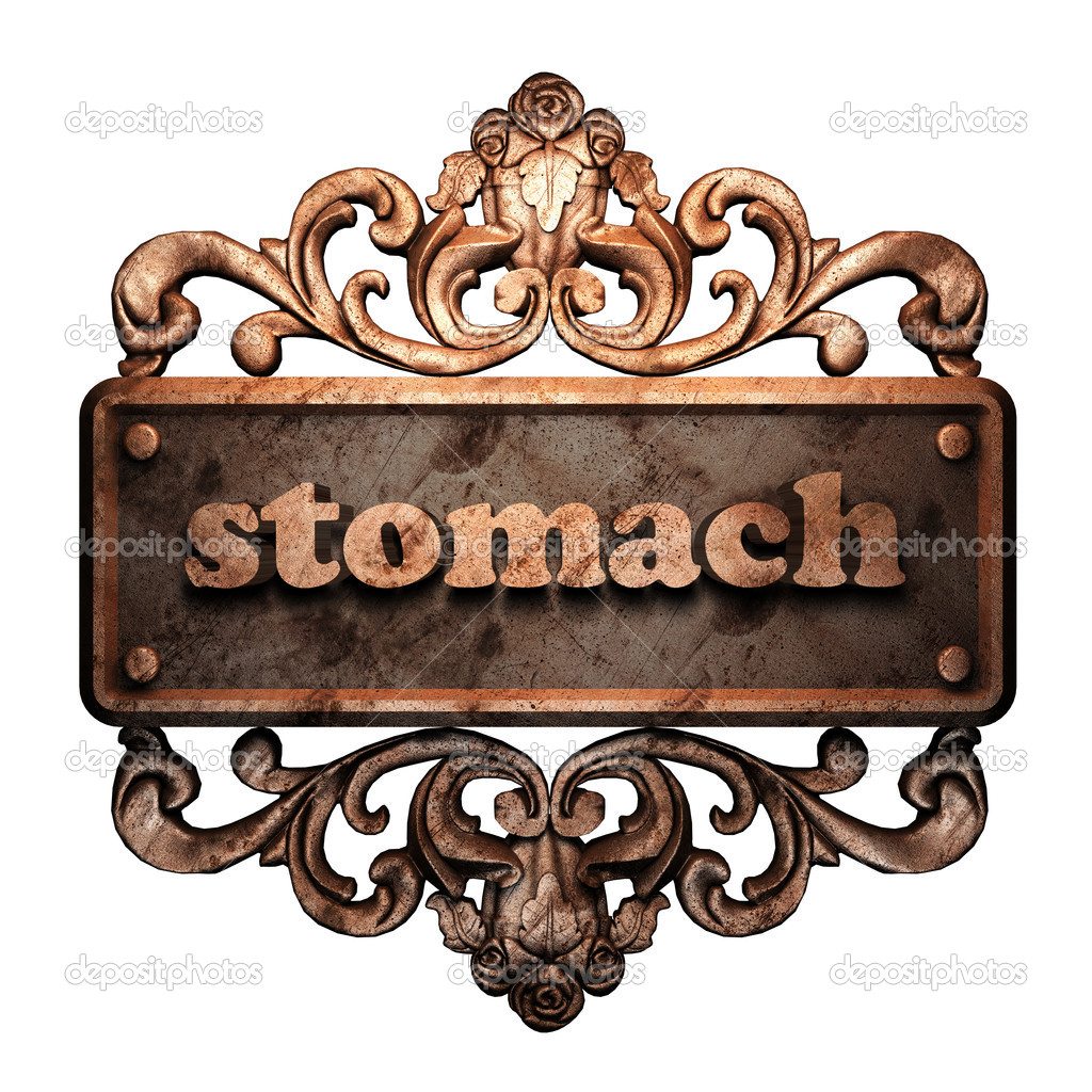 Word on bronze ornament — Stock Photo #8480361