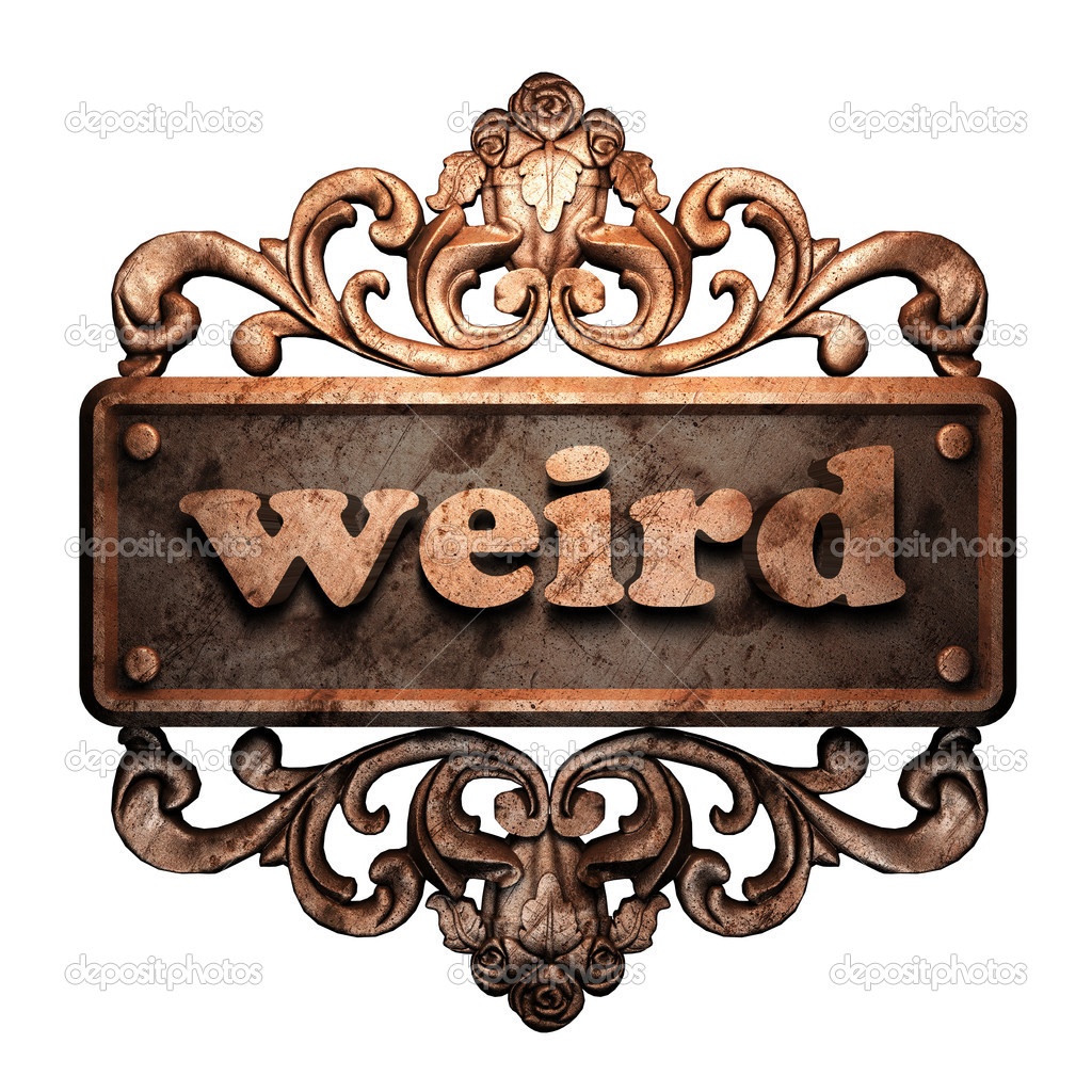 Word on bronze ornament — Stock Photo #8489128