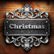 Silver word on ornament - 