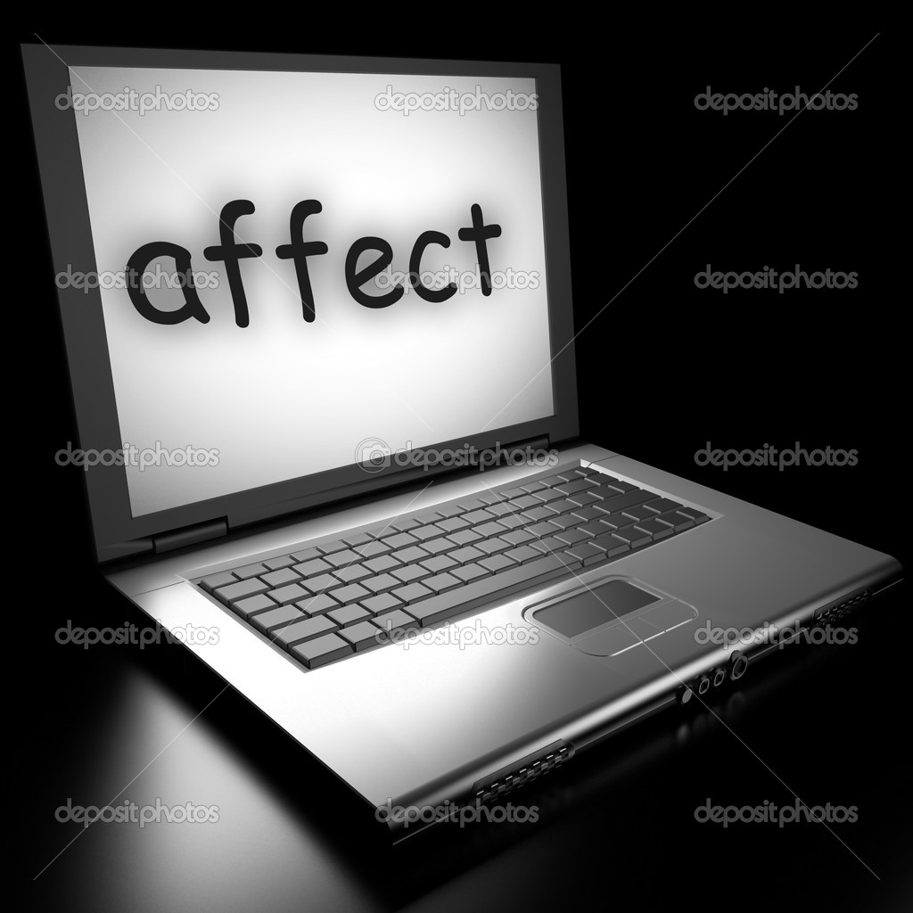 Word on laptop made in 3D  Stock Photo #9846541