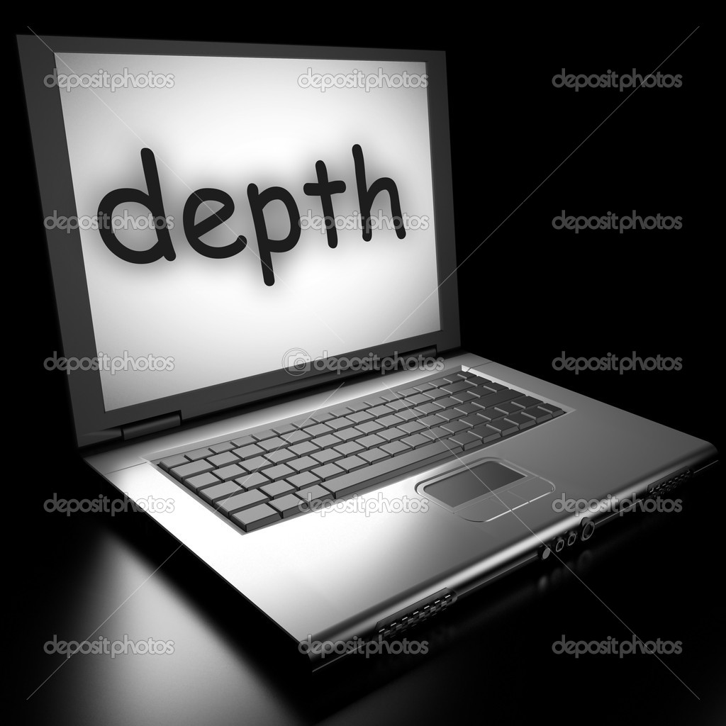 Word on laptop made in 3D — Stock Photo #9853446
