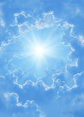 Beautiful clouds — Stok fotoğraf