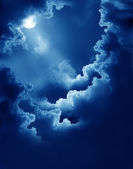 Magic moon — Stock Photo