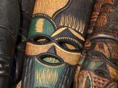 African mask — Stockfoto