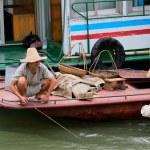 Chinese fisherman — Stock Photo