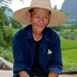 Old Chinese man - Stock Photo
